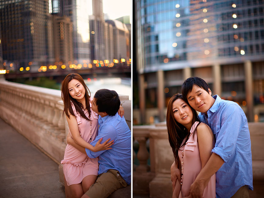 Downtown-Chicago-Summer-Asian-Korean-Engagement-Session-12