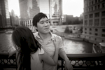 Downtown-Chicago-Summer-Asian-Korean-Engagement-Session-13