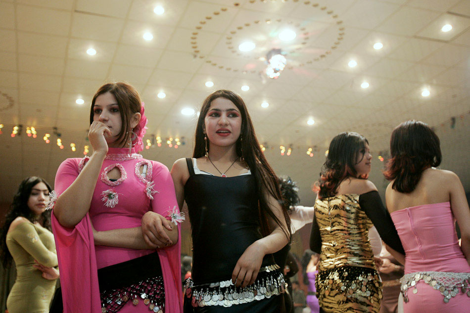 Iraqi refugees earn between $25-$20 night for dancing and entertaining customers. Just a few years ago the outskirts of Damascus were no more than a desert. Since the invasion of Iraq, night clubs have sprouted up by the dozen and Syria has become a destination for sex tourism in the Middle East.