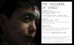 A nine year old Syrian child named Shadi was injured by shrapnel from an unidentified explosion while crossing the border to Lebanon. In the spring of 2012 there were less than 10,000 Syrian refugees in the country. A year and half later there are more than one million refugees in Lebanon, over 500,000 are said to be children.