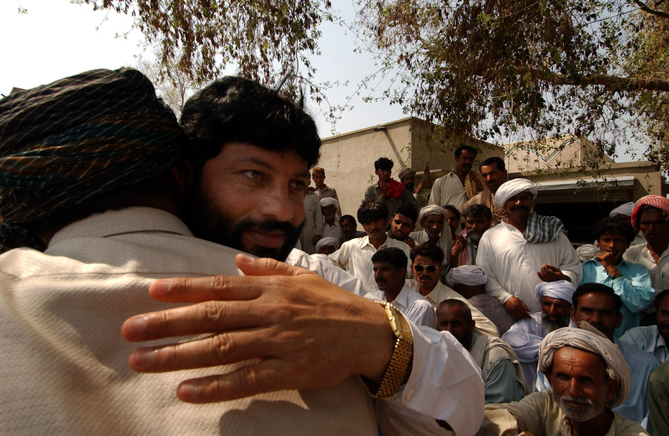On 3 March 2005 five of the six men sentenced to death were acquitted on appeal by the Lahore High Court. Faiz Muhammad, head of the tribal council that ordered the {quote}honor rape{quote}, is given a hero's welcome upon returning to Meerwala. Within a matter of days he was taken back into custody.