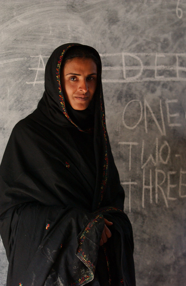 Mukhtar Mai used the compensation money she was given to open the first school in her village.