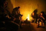 After Israel stopped fuel supplies to Gaza in January 2008, Gazans were left without electricity, accept for a few hours a day.