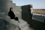 Chiria fled Baghdad for Kurdistan after her son was shot dead. 