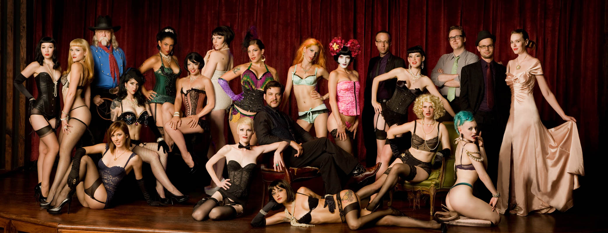Wasabassco Burlesque Troupe, Brooklyn, Ny