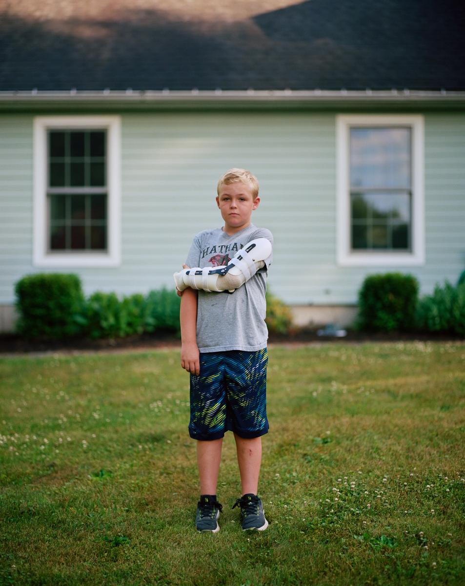 Aidan Brennan, 10 years.