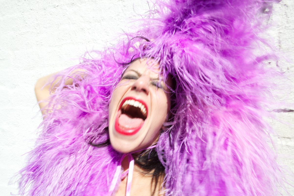 <i>Tamara Levinson, Feather Boa</i>New York, NY, October 2010