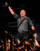 Bruce Springsteen performs.
