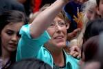 Former President Michelle Bachelet.