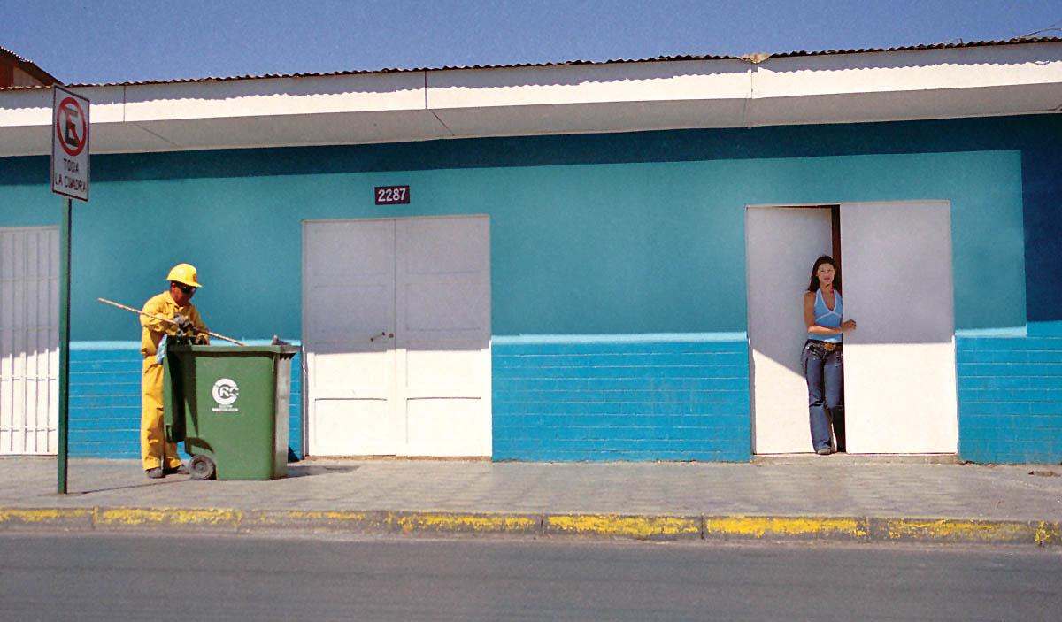 Calama street scene.