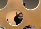 Luqman Salim, 3, of Hamden, participates in the bean-bag toss at the Salma K. Farid Academy Winter Carnival last January.