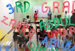 A 3rd grade classroom at Salma K. Farid Academy.