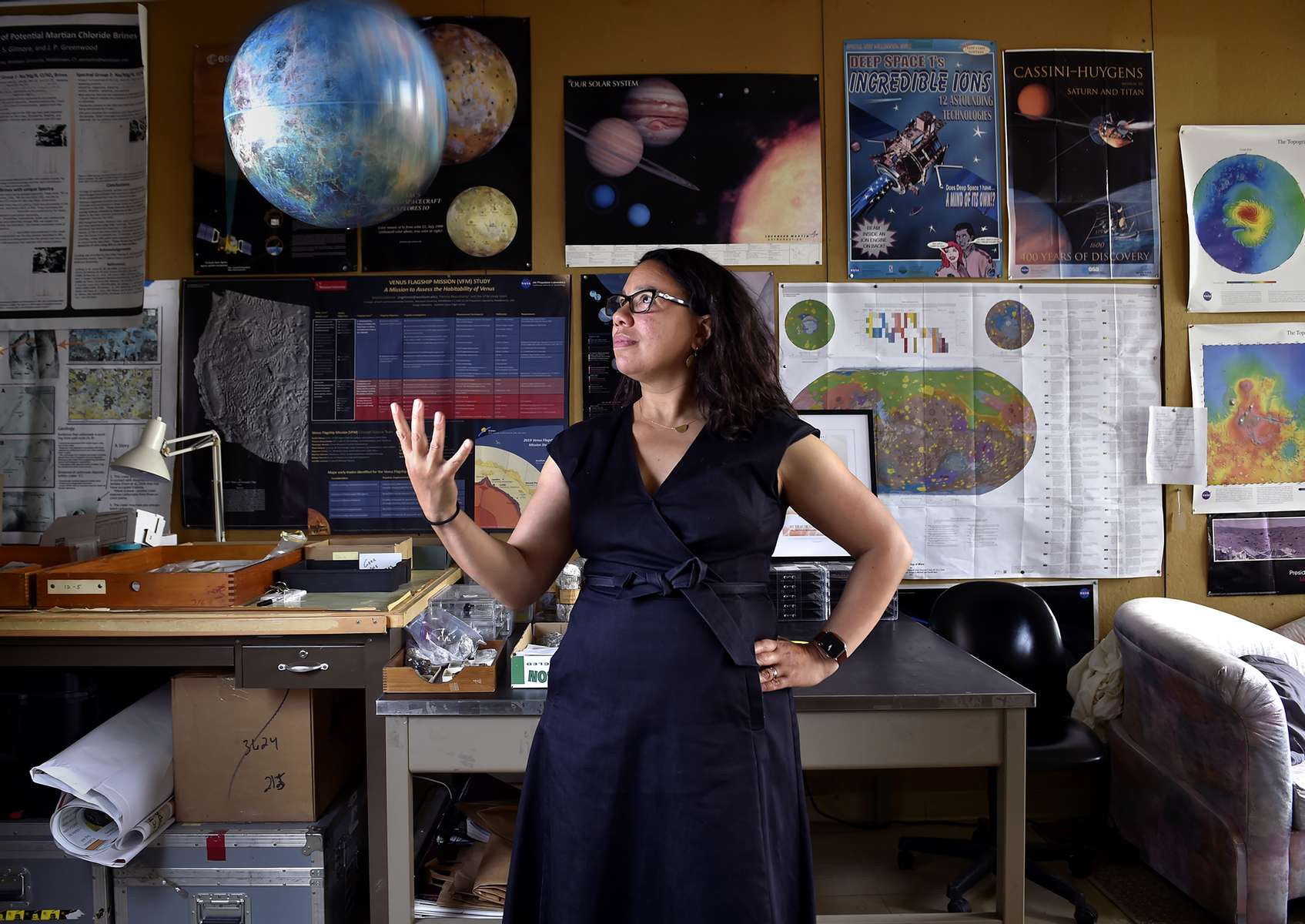 Middletown, CT - 6/4/21 - Two projects by Wesleyan University professor Martha S. Gilmore, have been selected as NASA missions related to Venus. Photo by Brad Horrigan | bhorrigan@courant.com
