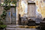 Rustic setting on the island of Crete. Heraklion, Greece.