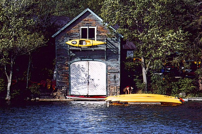 Boathouse, Lake George, NY