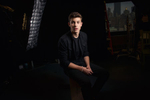 Shawn Mendes poses for a portrait at The Associated Press Headquarters in Manhattan, NY, USA on 9 July 2014.(Photo by Drew Gurian/Invision/AP)