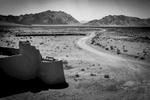 An ancient caravanserai on the southern Silk Road between Kerman and Yazd.