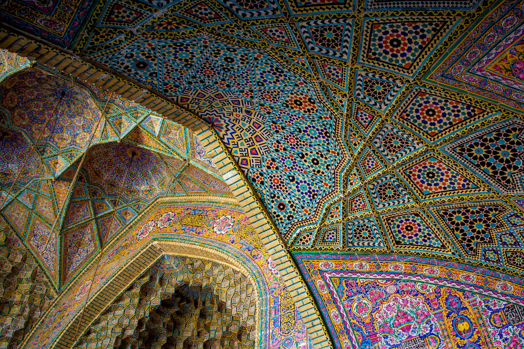 Nasir al-Mulk Mosque. 19th century. Shiraz.
