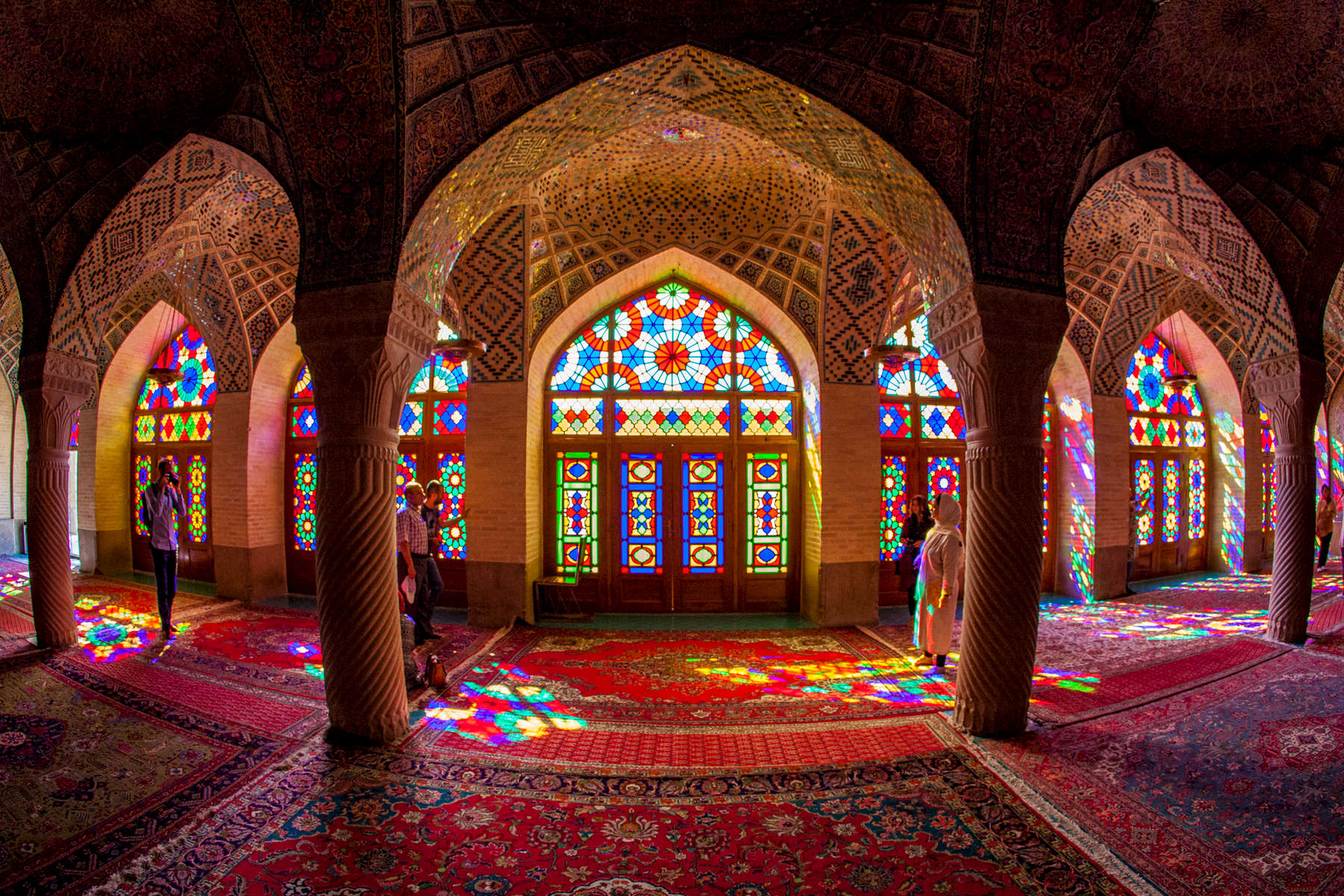 Winter Prayer Hall. Nasir al-Mulk Mosque. Shiraz.