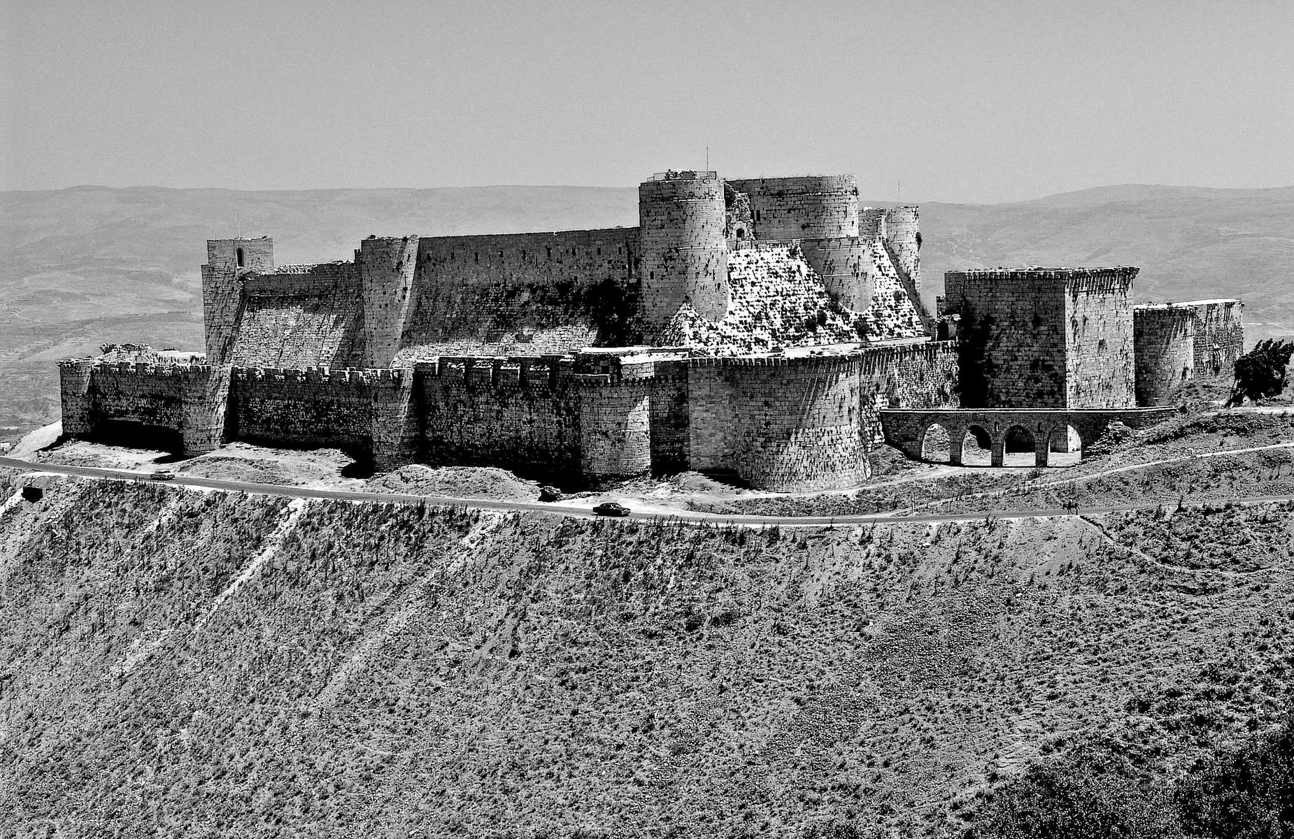 Crusader-era fortress of Crac des Chevaliers.
