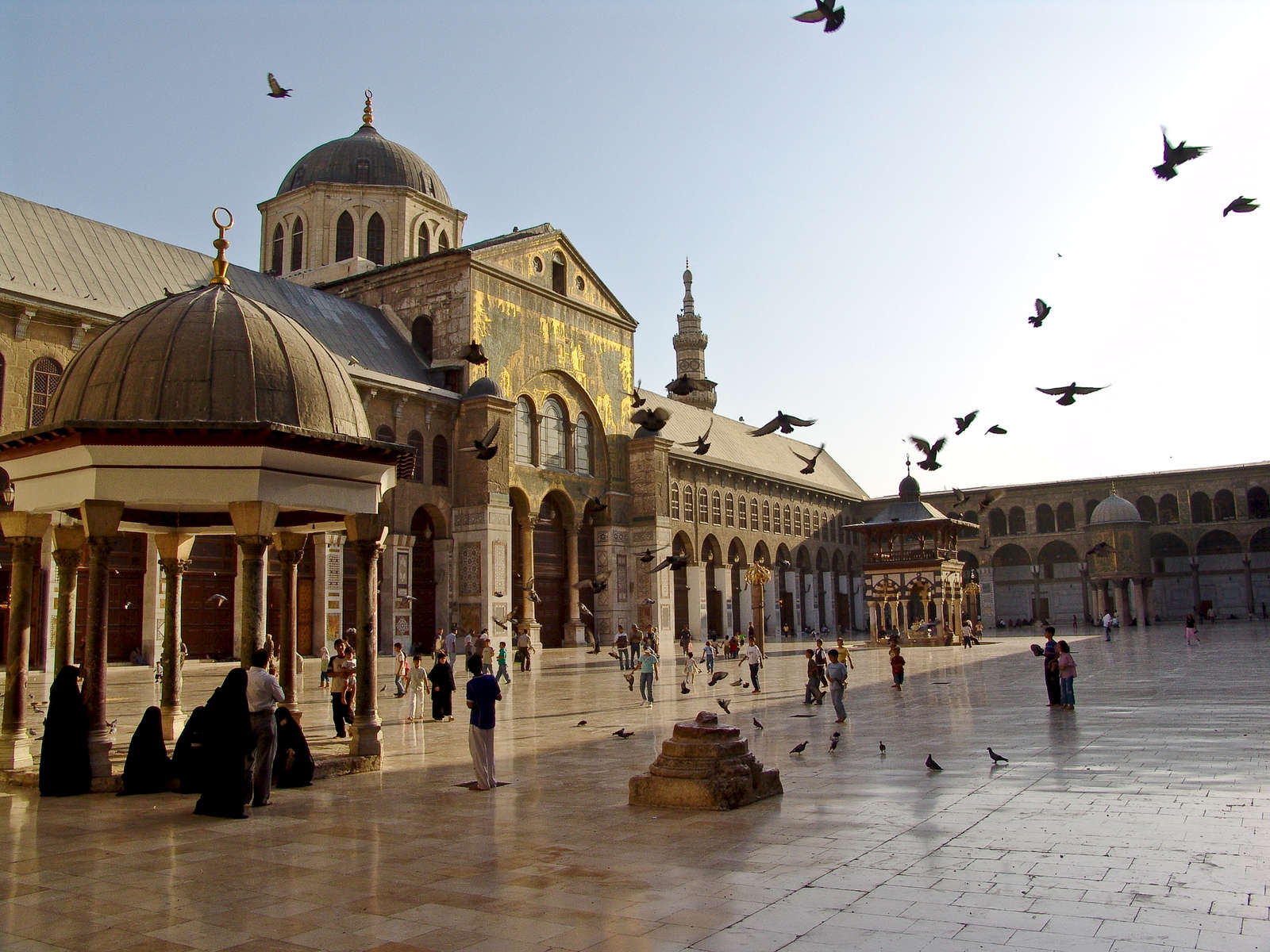 Umayyad Mosque.  8th century.  Damascus.