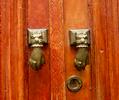 Doorknockers in Tunis.