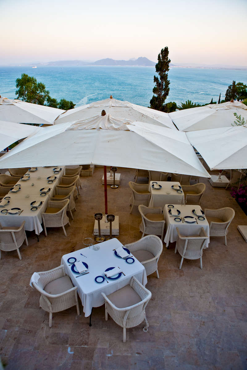 Mediterranean views at Sidi Bou Said.
