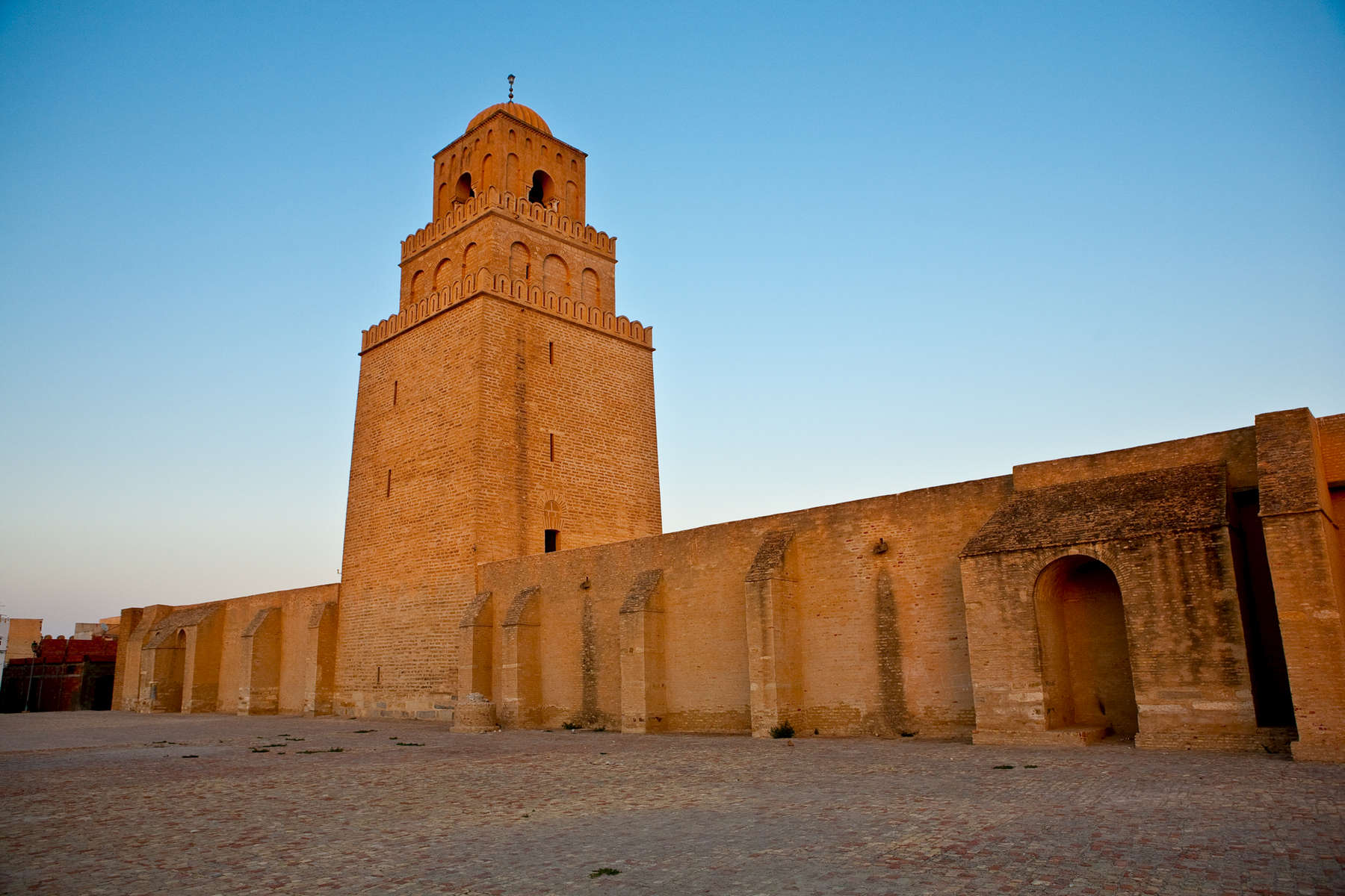The Great Mosque at Kairouan.  9th century.