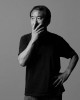 Japanese novelist Haruki Murakami photographed for The Guardian Sunday Magazine.