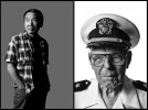 Japanese author Haruki Murakami for The Guardian UK.  Joseph Langdell, Navy, USS Arizona survivor.