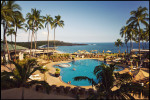 The pool at the Four Seasons Resort at Manele Bay.  Photograph for The Wall Street Journal.