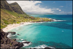 A view of Makapuu Beach on Oahu's Windward side.  Photograph for The New York Times.