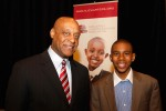 African American Mentor and Student at New Jersey Charter Schools Association Convention.