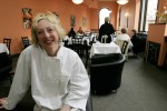 Portrait of Owner and Executive Chef in her restaurant in Phillipsburg, New Jersey
