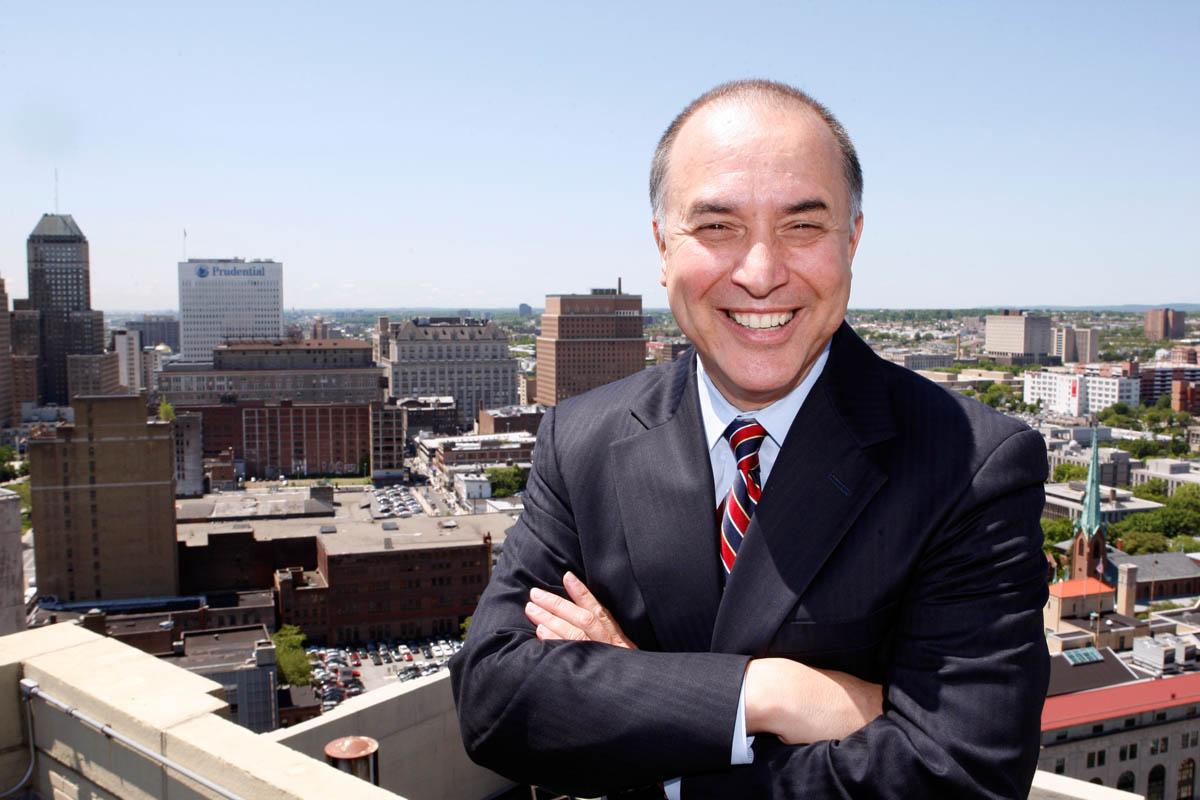 Portrait of Sam Delgado, Vice President of Verizon in Newark, New Jersey