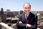 Portrait of Sam Delgado, Vice President of Verizon in Newark, New Jersey