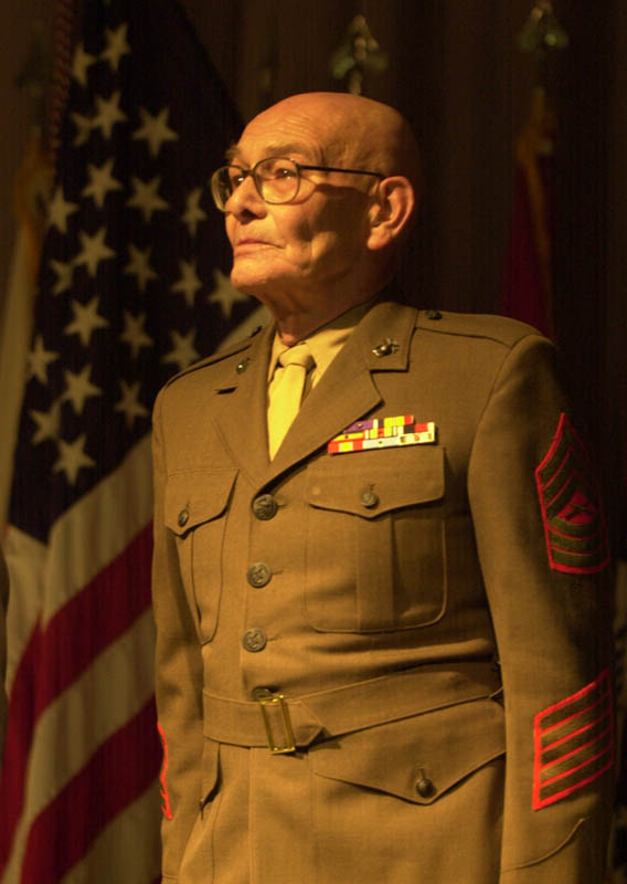 Portrait of Retired Marine Corps Master Sergeant Ken Benson of Newton, New Jersey