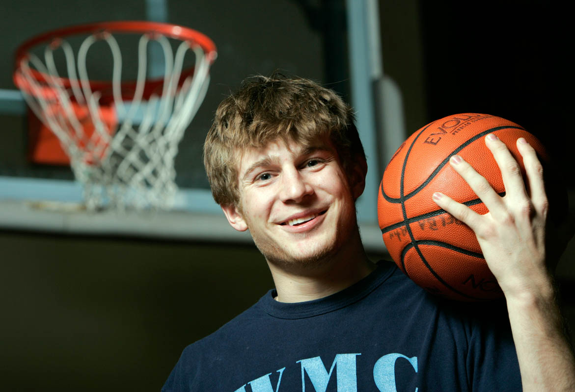 Drew Burton of West Morris Central, Morris County Boys Basketball Player of the Year.