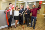 Ribbon Cutting ceremony at Jaffe Communications in Cranford, NJ on 10/19/17.