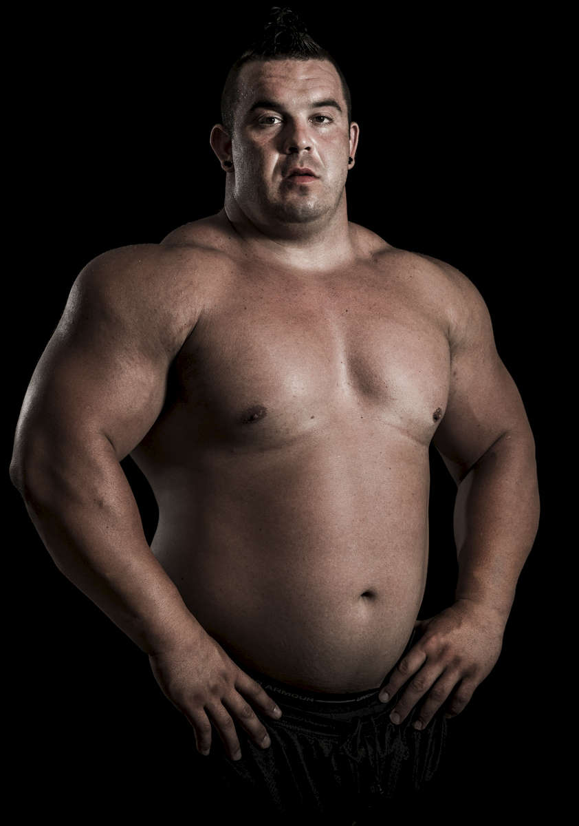 WSM athlete Mike Jenkins of USA poses for a portrait ahead the World Strongest Man in China. Photo by Victor Fraile / Power Sport Images