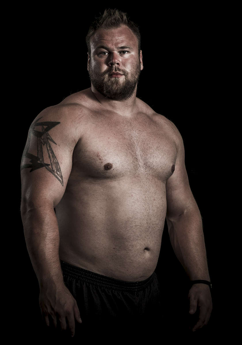 WSM athlete Johannes Arsjo of Sweden poses for a portrait ahead the World Strongest Man in China. Photo by Victor Fraile / Power Sport Images