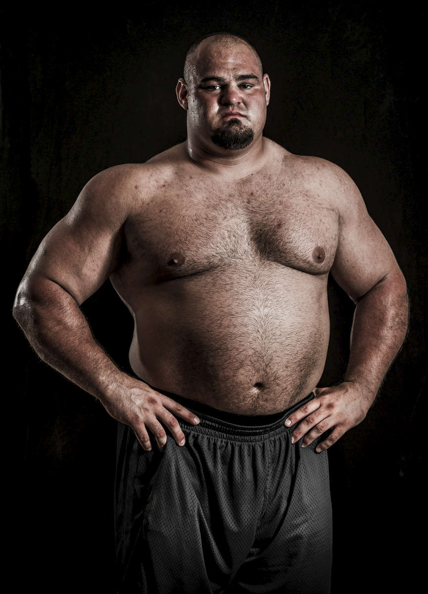 WSM athlete Brian Shaw of USA poses for a portrait ahead the World Strongest Man in China. Photo by Victor Fraile / Power Sport Images