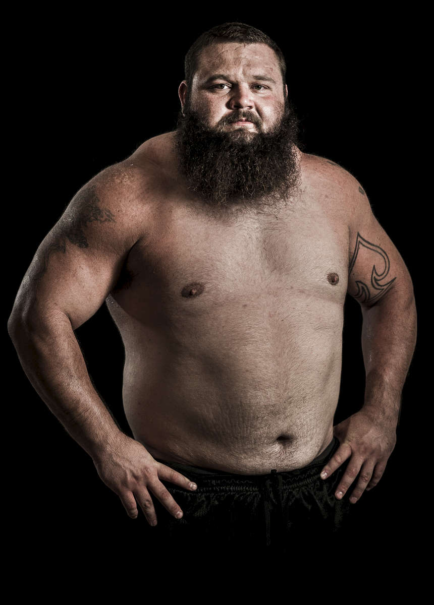 WSM athlete Robert Oberst of USA poses for a portrait ahead the World Strongest Man in China. Photo by Victor Fraile / Power Sport Images