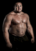 WSM athlete Misha Koklyaev of Russia poses for a portrait ahead the World Strongest Man in China. Photo by Victor Fraile / Power Sport Images