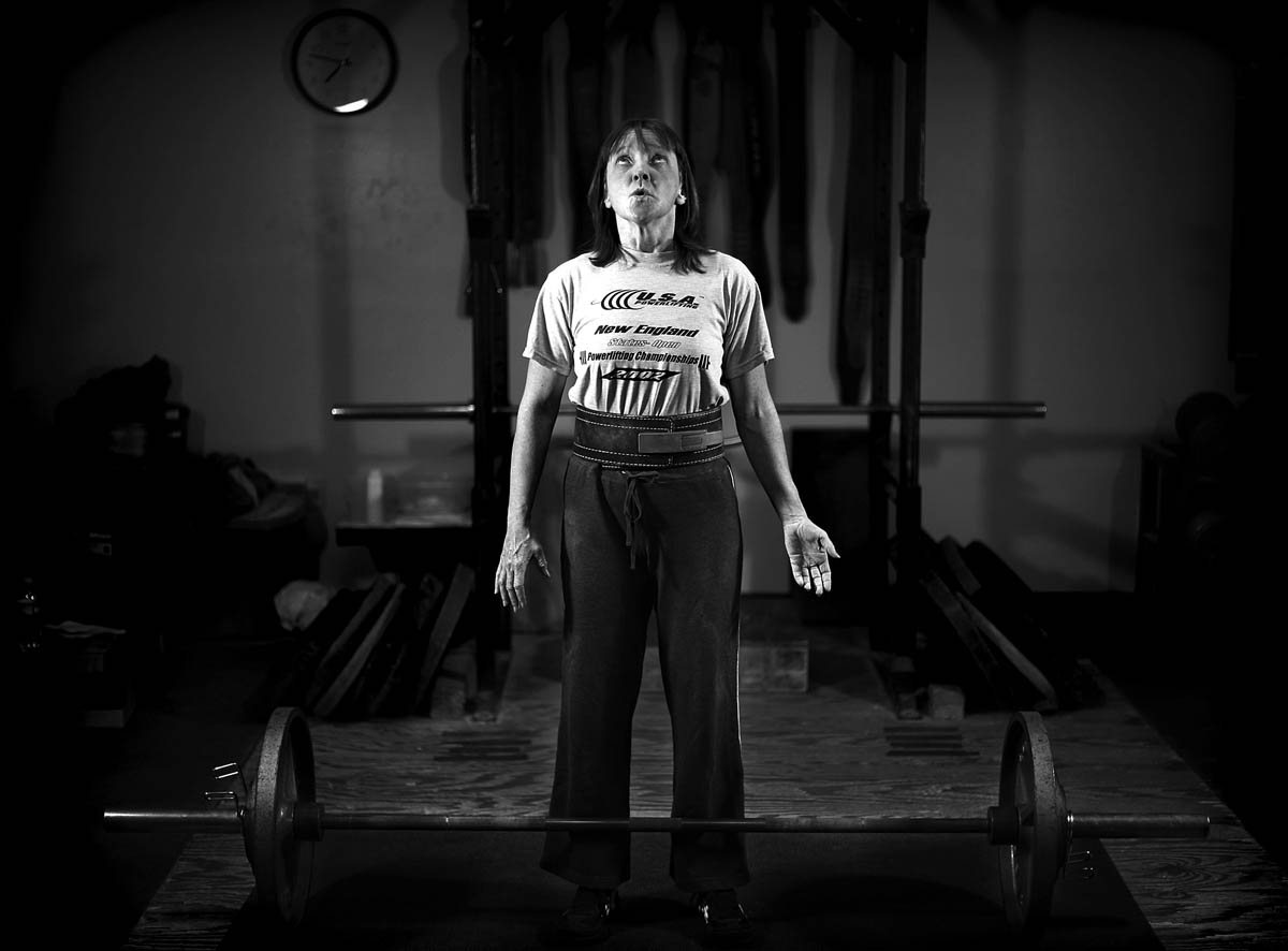 Teresa Micals, 45, of Milford, has been powerlifting for eight years and competes two to three times a year.