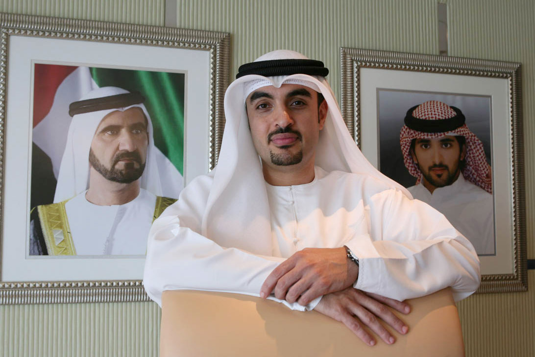 Mohammed Ali Al Hashimi, Executive Chairman, Zabeel Investments, at his office in the Dubai International Financial Centre (DIFC), on May 26, 2008.
