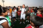 Legendary tennis coach Nick Bollettieri who has trained top players such as Pete Sampras, Andre Agassi and the Williams sisters, among others, speaking during a coaching clinic at the Repton School in Dubai on December 7, 2009.