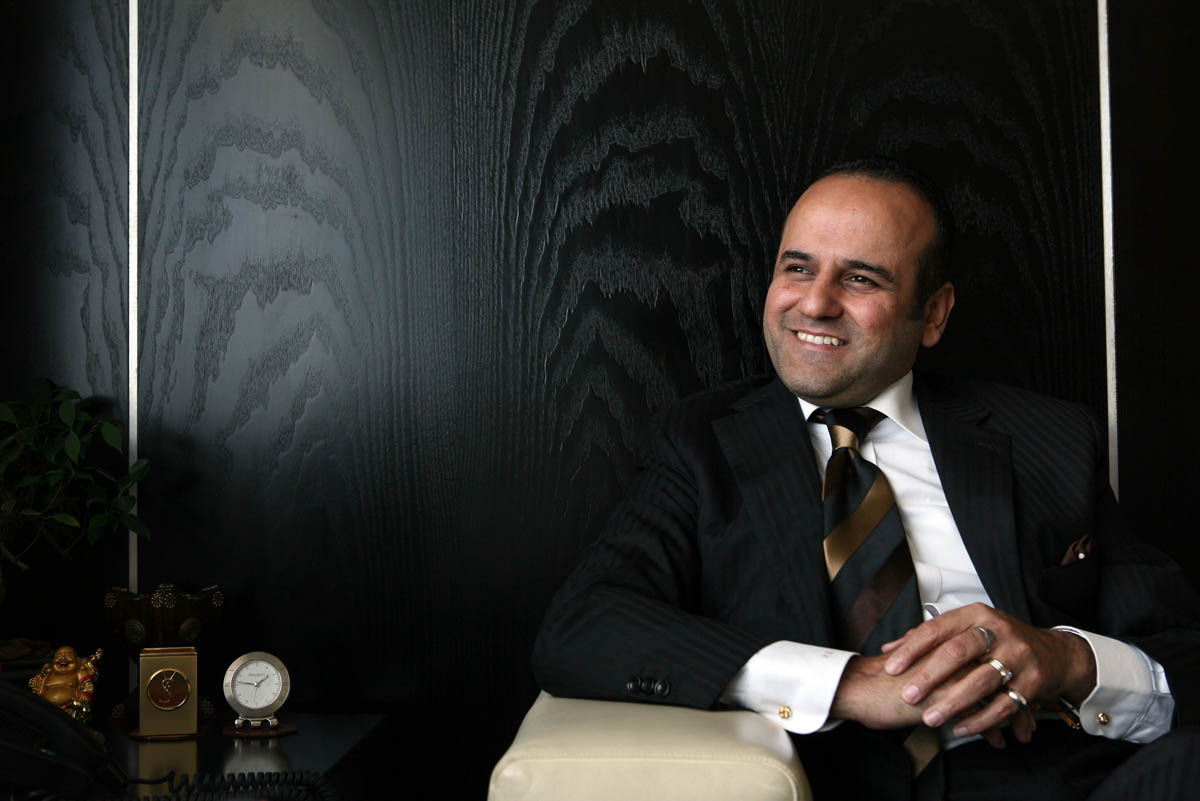Prakash Bojwani, Vice Chairman & President, Time Machine Group, pictured at his office in Dubai on May 11, 2009.