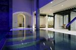 The Rainforest pool at the Banyan Tree Al Wadi resort in Ras Al Khaimah, UAE.