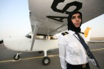 Salma al Baloushi, Etihad Airways pilot